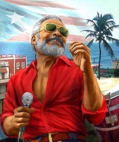 """Ismael Rivera """"El Sonero Mayor"""" Puerto Rican Music, Puerto Rican Flag, Latin Artists, Music Artists, Salsa Musica, Famous Latinos, Puerto Rico Island, Puerto Rico History, Puerto Rican Culture"""