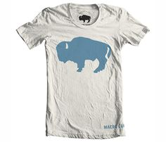 Rugged and stylish. American Bison Tee, $16.99 via @uncovet
