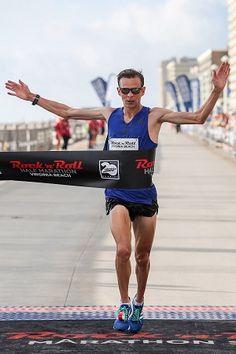 Athletics: Eggleston Dominates at the Scenic Rock 'n' Roll Virginia Beach Half Marathon