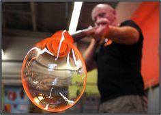 I wish there was a class nearby.   Glass Blowing ~ Diablo Glass School ~ Charleston, South Carolina.
