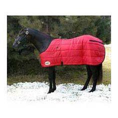 Medium Weight Stable Horse Blanket Red/Black - Item # 37929