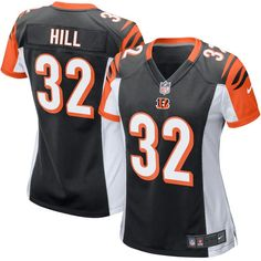 Jeremy Hill Cincinnati Bengals Nike Women's Game Jersey - Black