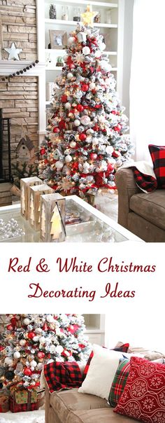 Red and white holiday home favorite christmas traditions