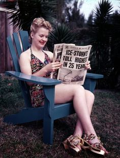 vintage everyday: Wonderful Color Photos of Daily Life in Florida in the 1940s