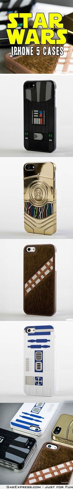 Star Wars iPhone cases.