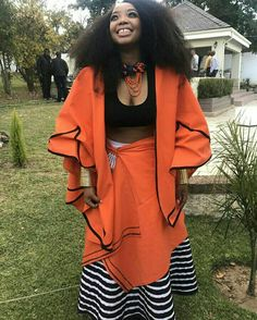 Tembisa looking stunning Xhosa Attire, African Attire, African Wear, African Women, African Print Dresses, African Fashion Dresses, African Dress, African Prints, African Traditional Wedding