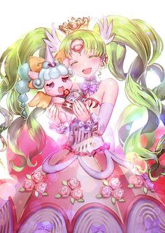 Falulu and Unicorn! To cute!!!