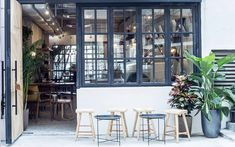 While tourists flock to the usual chains, you'll find trendy locals cosied up at these hangs.