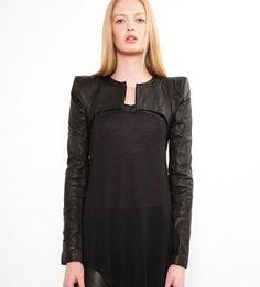 Skingraft Mini Shoulder jacket in black