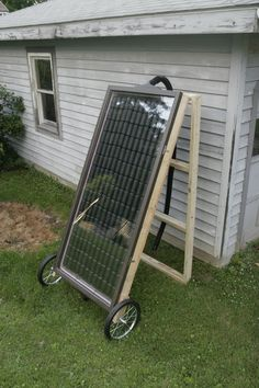Pop Can Solar Heater for Greenhouse