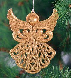 Dale un toque elegante y delicado a tu árbol navideño con este accesorio.