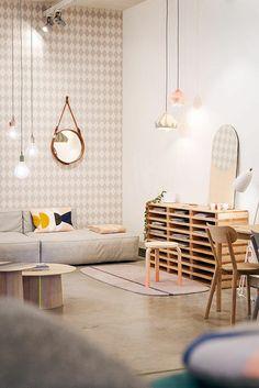 wohnzimmer wandgestaltung ideen coole beispiele fur tapetenmuster