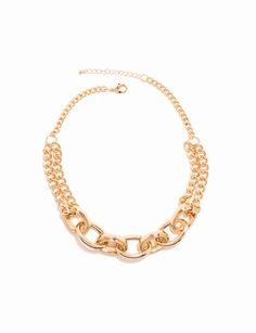 Short Chain Link Necklace from THELIMITED.com #TheLimited