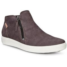 82a5a505408b Ecco Women s shoes · Modern Side-Zip Bootie In Supple Leather For A Rich  Look And Feel. Soft