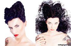 hair styled by lauren rynders