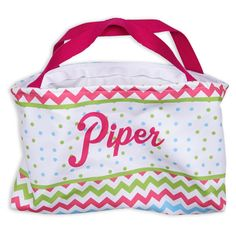 Bright Chevron Dot Easter Basket – Lolly Wolly Doodle