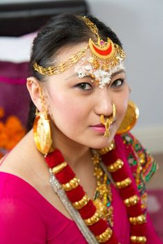 Traditional Nepalese Limbu ethnic jewellery