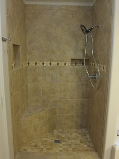 the floor doorless shower designs more