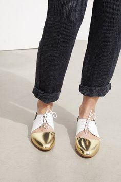 Emma Go summer derbies ! #emmago #nordicdesign #chaussures #shoes #土足 #Schuhe #sko #shoeporn #shoeaddict#boots #bottines #gold