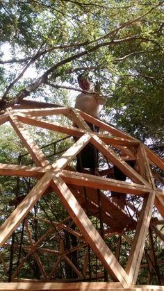 Domo geodesico Curacautin/Chile