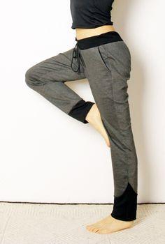 PDF Schnittmuster für Jogginghose / sewing instruction for yoga pants made by Schnitte-bei-Oki via DaWanda.com