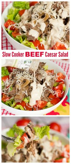 Slow cooker beef loa