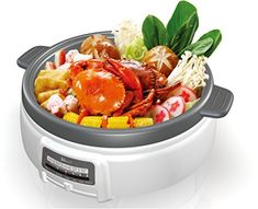 Electric Multi-Cooker Shabu Shabu hot pot by Narita >>> Want additional info? Click on the image. #HotPots