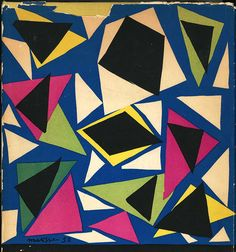 Henri Matisse: Cover for The Complete Original Posters of Braque, Chagall, Dufy, Léger, Míro, Picasso. 1952