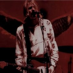 gambar kurt cobain, nirvana, and grunge