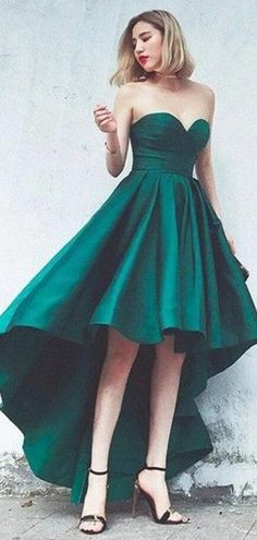 Simple Emerald Green High Low Simple Cheap Short Homecoming Dresses On – LoverBridal Homecoming Dresses High Low, Cheap Short Prom Dresses, Simple Prom Dress, Prom Dresses 2018, Prom Dresses Online, Party Dresses, Dress Prom, Long Dresses, Formal Dresses