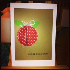 X-mas Card, Weihnachtskarte
