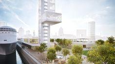 La firma Provencher Roy será la encargada de restaurar la terminal de cruceros de Montreal integrando una increíble torre de faro y paseo peatonal.