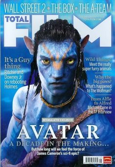 2010 Total Film Magazine: Avitar/Where the Wild Things Are/Sherlock Holmes/Micha