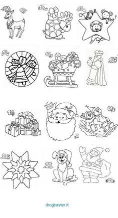 Disegni Di Natale Da Colorare Per Adulti.50 Fantastiche Immagini Su Disegni Da Colorare Natalizi