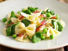 Pasta met erwtjes en pancetta - Libelle Lekker!