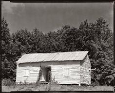 Walker Evans - Negro cabin in Hale County, Alabama (c1935-36)