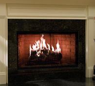 Exclaim Wood Fireplace