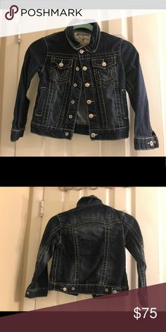 True Religion Jacket Beautiful kid's jacket size 6 in excellent used condition. Reasonable offers welcome! True Religion Jackets & Coats Jean Jackets