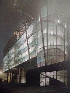 Rem Koolhaas, fragment Grand Palais w Lille, 1994
