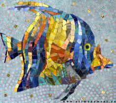 мозаика Наша самая первая рыбка