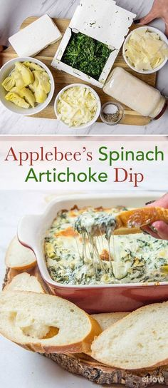 Love Appledbee's spinach artichoke dip? Try this copycat recipe and have it ANY time you please!