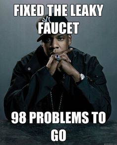 Funny pictures about Jay-Z makes some progress. Oh, and cool pics about Jay-Z makes some progress. Also, Jay-Z makes some progress. I Smile, Make Me Smile, Mtv, Hiphop, Plumbing Humor, Leaky Faucet, Hip Problems, Pregnancy Problems, Jay Z