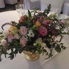 Beautiful night @thelandingatdockside #beautifulbrides #lovelycouples #weddingreception #weddingfloristbrisbane by northsideflowermarket