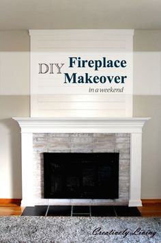 9 Wonderful Tricks: Old Fireplace Joanna Gaines marble fireplace benjamin moore.Tv Over Fireplace Dvd Player fireplace modernas exterior.Brick And Limestone Fireplace. Diy Fireplace Mantel, Fireplace Update, Shiplap Fireplace, Fireplace Remodel, Fireplace Design, Fireplace Ideas, Simple Fireplace, Fireplace Shelves, Fireplace Outdoor