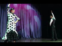 """Escuela de baile """"El Palau"""" Lola Reyes y Javi Pardo (Sevillanas) - YouTube Reyes, Valencia, Music Artists, Youtube, Flamingo, Theater, School, Crates, Musica"""