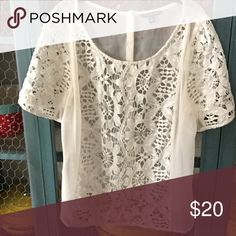 Gorgeous top from American Eagle Outfitters Adorable top from American Eagle Outfitters//size large//in perfect condition//smoke free home American Eagle Outfitters Tops Blouses