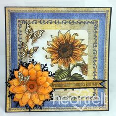 Heartfelt Creations | Sunflower Sunny Thoughts