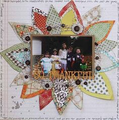 Very cute scrapbook page. Makes me want to scrap.