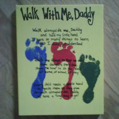 Walk With Me, Daddy poem for Father's Day