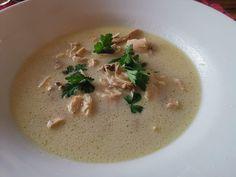 Tom Kha Gai oder Tom Ka Gai Baguette, Pasta, Hummus, Thai Red Curry, Toms, Ethnic Recipes, Fresh Coriander, Lemon Grass, Oder